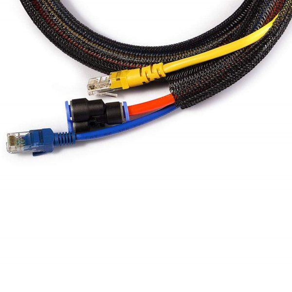 iGADGET® Rapid™ Self Closing Braided Cable Tidy Management Sleeve